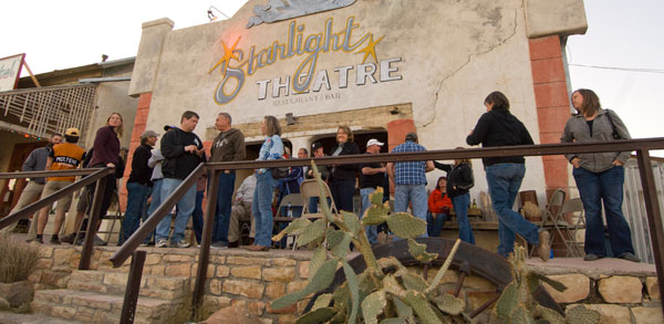 The starlight theatre restaurant saloon has the best for Big bend motor lodge study butte tx